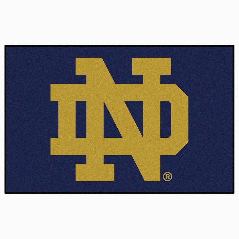 Notre Dame Fighting Irish Start Rug