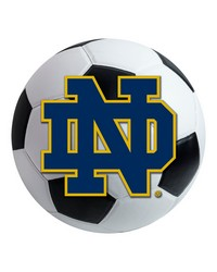 Notre Dame Soccer Ball  by