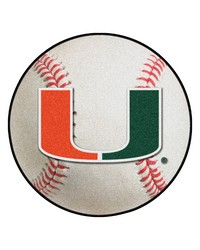 Miami Baseball Mat 26 diameter  by