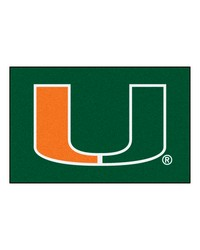Miami Hurricanes Starter Rug by