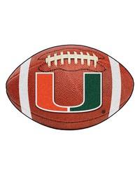 Miami Hurricanes Football Rug by