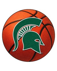 Michigan State Spartans Basketball Rug by