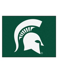Michigan State Spartans All Star Rug by
