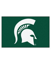 Michigan State Spartans Starter Rug by