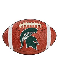 Michigan State Spartans Football Rug by