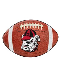 Georgia Bulldogs Uga Football Rug by