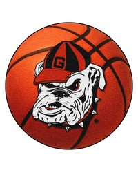 Georgia Bulldogs Uga Basketball Rug by