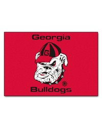 Georgia Bulldogs Uga Starter Rug by