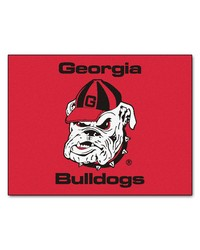 Georgia Bulldogs Uga All Star Rug by