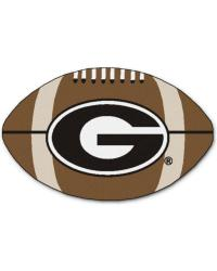 Georgia Bulldogs Football Rug by