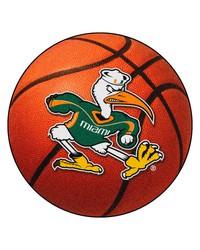 Miami Basketball Mat 26 diameter  by