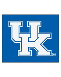 Kentucky Tailgater Rug 60x72 by