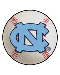 UNC Chapel Hill Baseball Mat 26 diameter by
