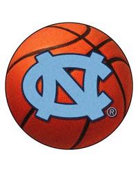 North Carolina Tar Heels Basketball Rug by