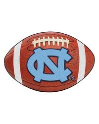 North Carolina Tar Heels Football Rug by