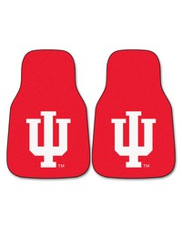 Indiana 2piece Carpeted Car Mats 18x27 by