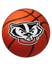 Wisconsin Badgers Basketball Rug by