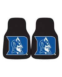 Duke 2piece Carpeted Car Mats 18x27 by