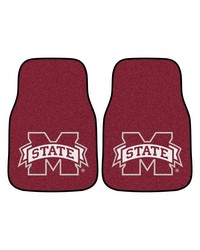 Mississippi State 2piece Carpeted Car Mats 18x27 by