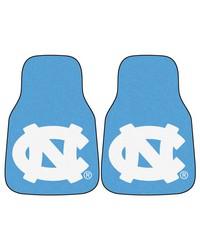 UNC Chapel Hill 2piece Carpeted Cat Mats 18x27 by