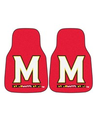 Maryland 2piece Carpeted Car Mats 18x27 by