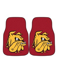 MinnesotaDuluth 2piece Carpeted Car Mats 18x27 by