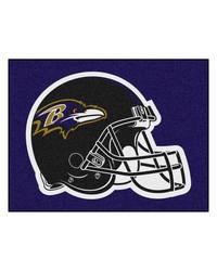 NFL Baltimore Ravens AllStar Mat 34x45 by