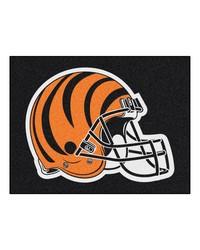 NFL Cincinnati Bengals AllStar Mat 34x45 by
