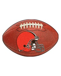 Cleveland Browns Football Rug by