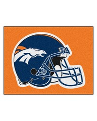 NFL Denver Broncos AllStar Mat 34x45 by