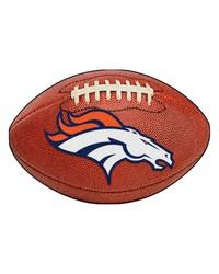 Denver Broncos Football Rug by