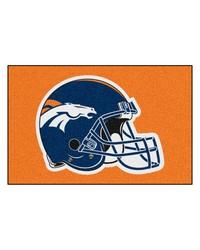 Denver Broncos Starter Rug by