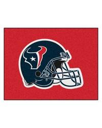 NFL Houston Texans AllStar Mat 34x45 by