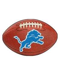 Detroit Lions Football Rug by