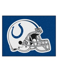 NFL Indianapolis Colts AllStar Mat 34x45 by