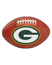 Green Bay Packers Football Rug by