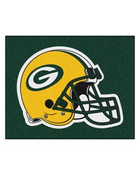 Green Bay Packers Tailgater Rug by