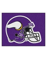 NFL Minnesota Vikings AllStar Mat 34x45 by
