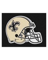 NFL New Orleans Saints AllStar Mat 34x45 by