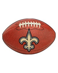 New Orleans Saints Football Rug by