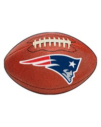 New England Patriots Football Rug by
