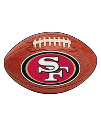 San Francisco 49ers Football Rug by