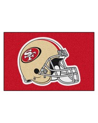 San Francisco 49ers Starter Rug by
