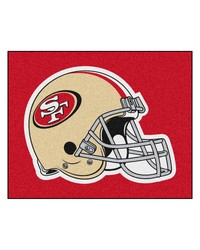 San Francisco 49ers Tailgater Rug by