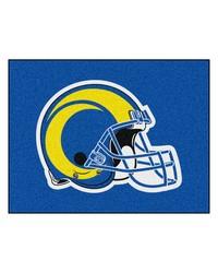 NFL St. Louis Rams AllStar Mat 34x45 by