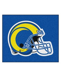 St Louis Rams Tailgater Rug by