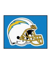 NFL San Diego Chargers AllStar Mat 34x45 by