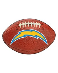 San Diego Chargers Football Rug by