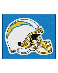 San Diego Chargers Tailgater Rug by