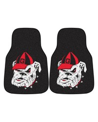 Georgia 2piece Carpeted Car Mats 18x27 by